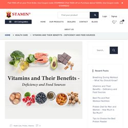 Vitamins and Their Benefits