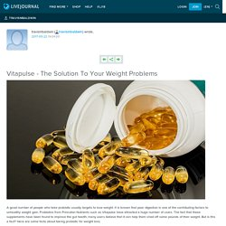 Vitapulse The Solution To Your Weight Problems