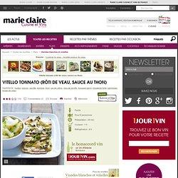 Vitello tonnato (rôti de veau, sauce au thon)
