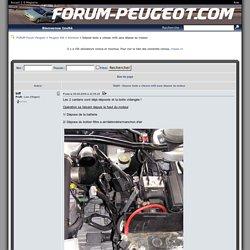 Dépose boite a vitesse ml5t sans dépose du moteur - Entretien - Peugeot 406