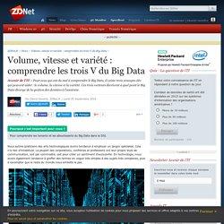 Volume, vitesse et variété : comprendre les trois V du Big Data - ZDNet