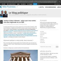 Justice à Deux Vitesses : Selon Que Vous Serez Une élue Régionale Ou Un SDF