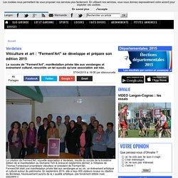 """Verdelais. Viticulture et art : """"Ferment'Art"""" se développe et prépare son édition 2015"""