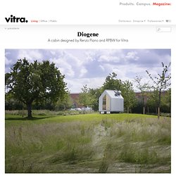 Diogene: A cabin designed by Renzo Piano and RPBW for Vitra