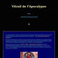 vitrail de l'Apocalypse