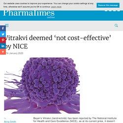 Vitrakvi deemed 'not cost-effective' by NICE