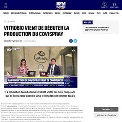 Vitrobio vient de débuter la production du Covispray