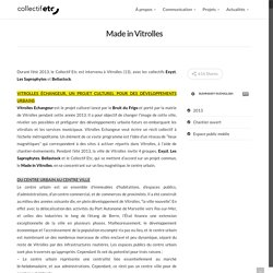 Made in Vitrolles – Collectif Etc, support d'expérimentations urbaines