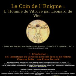 Vitruve de Vinci