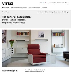 Vitsœ | Good design