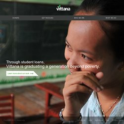 Vittana - Graduating a generation beyond poverty