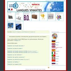 site des langues vivantes de l'Académie de Bordeaux