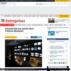 Vivendi fait son entrée chez l'italien Mediaset