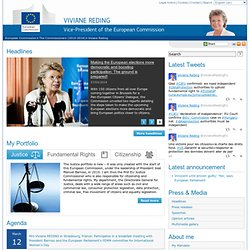 Viviane Reding - Commissioner for Information Society and Media