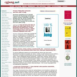 Viviane Thibaudier présente son livre 100% Jung