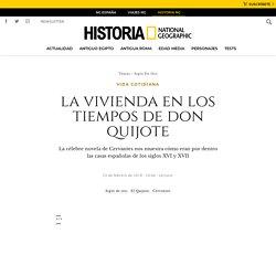 La vivienda en los tiempos de don Quijote