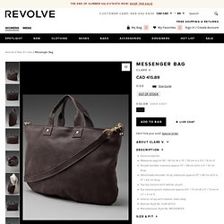 CLARE VIVIER Messenger Bag in Dark Grey at Revolve Clothing