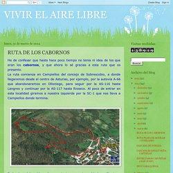 VIVIR EL AIRE LIBRE: RUTA DE LOS CABORNOS