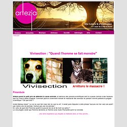 La Vivisection - Dissection animale