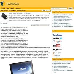 ASUS VivoBook X202E Notebook Review de 11,6 pouces