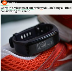 Garmin's Vivosmart HR reviewed: Don't buy a Fitbit before considering this band - Ars Technica