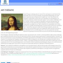 Vivre l'art - Art-thérapie