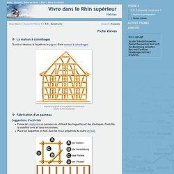 Vivre dans le Rhin supérieur - Thème 5