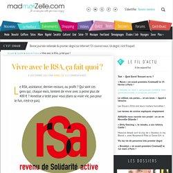Vivre avec le RSA : ça fait quoi ?
