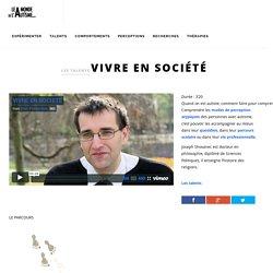Vivre en société - Le Monde de L'Autisme