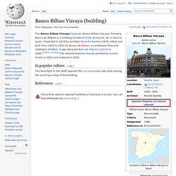 Madrid Attack 2007 - Quadriga Banco Bilbao Vizcaya (building) - Wikipedia
