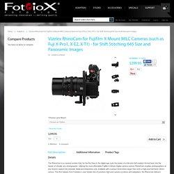 Vizelex RhinoCam for Sony NEX E-Mount Cameras