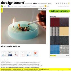 vizio candle ashtray