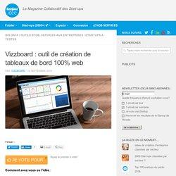 Vizzboard : outil de création de tableaux de bord 100% web