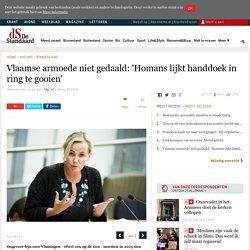 Vlaamse armoede niet gedaald: 'Homans lijkt handdoek in ring...