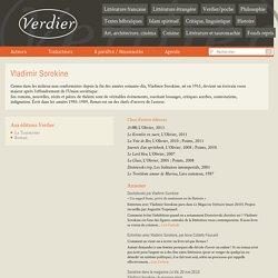 Vladimir Sorokine - Editions Verdier