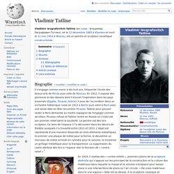 Vladimir Tatline