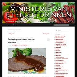 Ministerie van Eten en Drinken