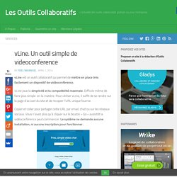 vLine. Un outil simple de videoconference