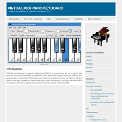 VMPK. Virtual MIDI Piano Keyboard