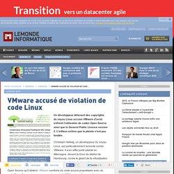 VMware accusé de violation de code Linux
