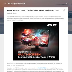 "Review: ASUS VN279QLB 27"" Full HD Widescreen LED Monitor"