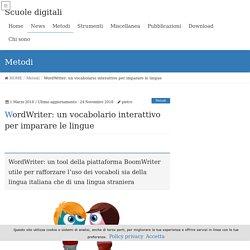 WordWriter: un vocabolario interattivo per imparare le lingue