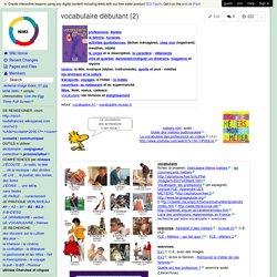 vocabulaire débutant (2)