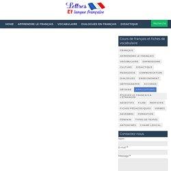 Vocabulaire de la description d'une voix humaine en français