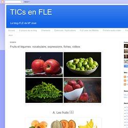 Fruits et légumes: vocabulaire, expressions, fiches, vidéos
