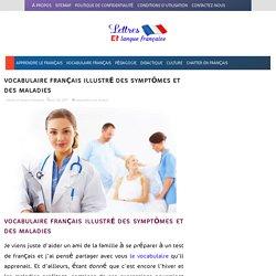 Vocabulaire français illustré des symptômes et des maladies