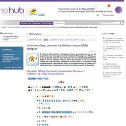 Les émoticônes, nouveau vocabulaire interactif des marques