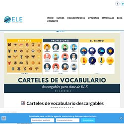 □️ Carteles de vocabulario descargables [SEMANAL]