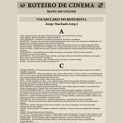 Dicionário e Glossário sobre Roteiro e Cinema