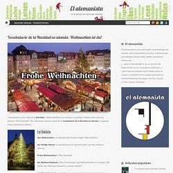 Vocabulario de la Navidad en alemán. Weihnachten ist da! - El alemanista